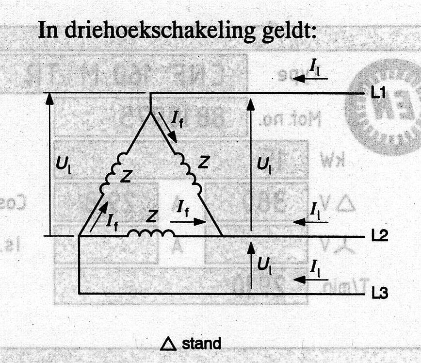 ster driehoek schakeling